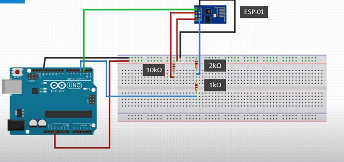 Arduino with esp01