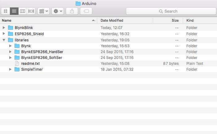 ARTIK Documentation: Arduino IDE