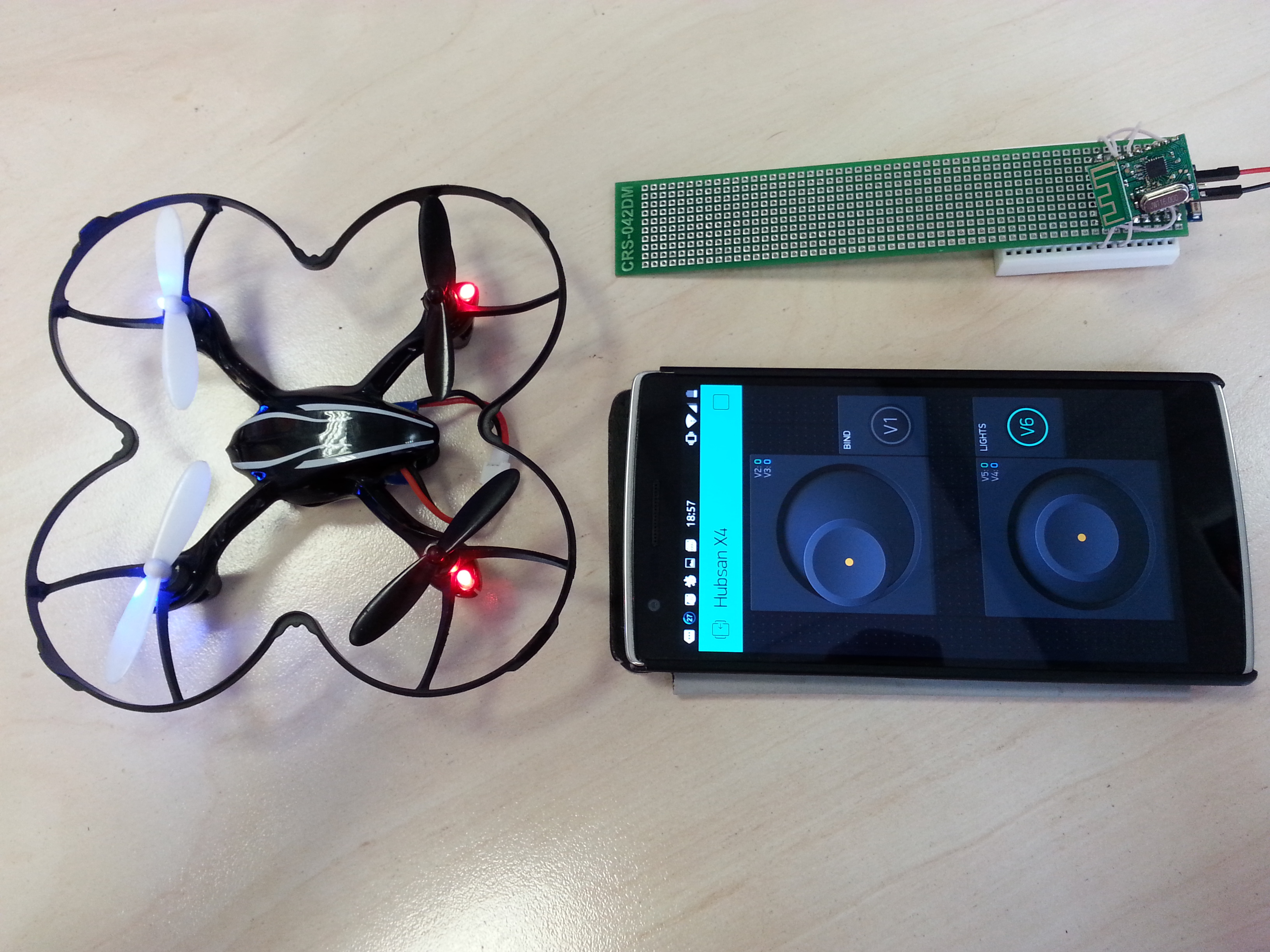 Quadcopter control in minutes projects made with
