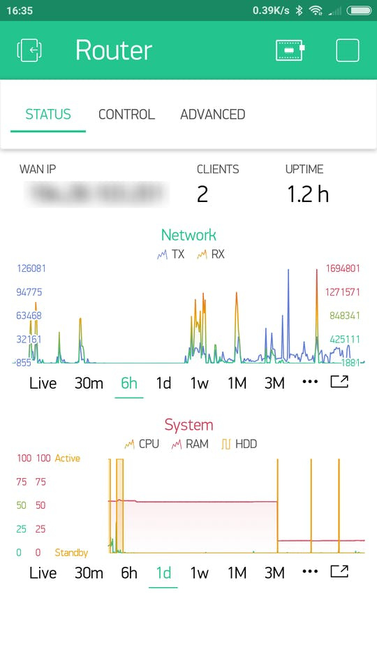 Great Weekend Project: Blynk app for your OpenWrt router - Projects