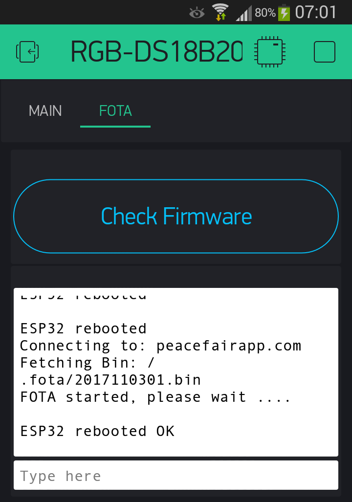 Self-updating ( from WEB server HTTP ) OTA firmware for ESP8266 AND