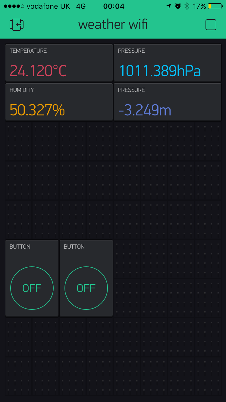 Trying to connect esp8266 to bme280 but cant pull out readings