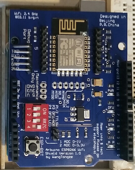 Basic Configuration with Arduino and ESP8266 Wifi Shield (ESP-12E ... e53d86eaa142