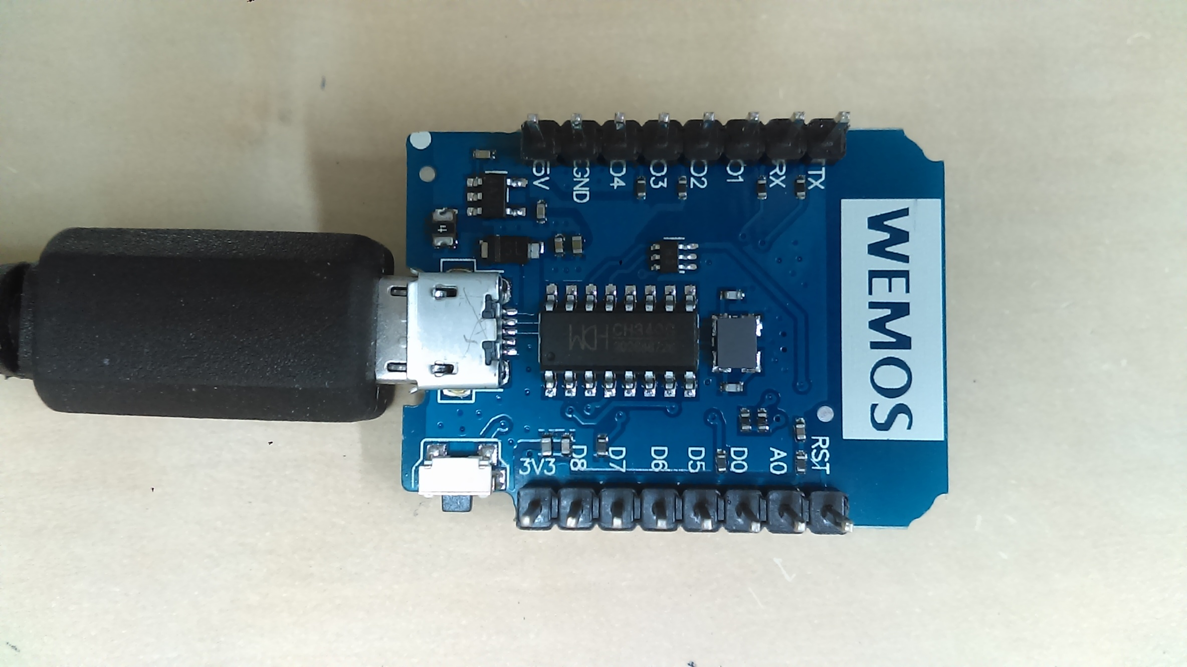 Cannot upload to wemos board in arduino ide solved blynk