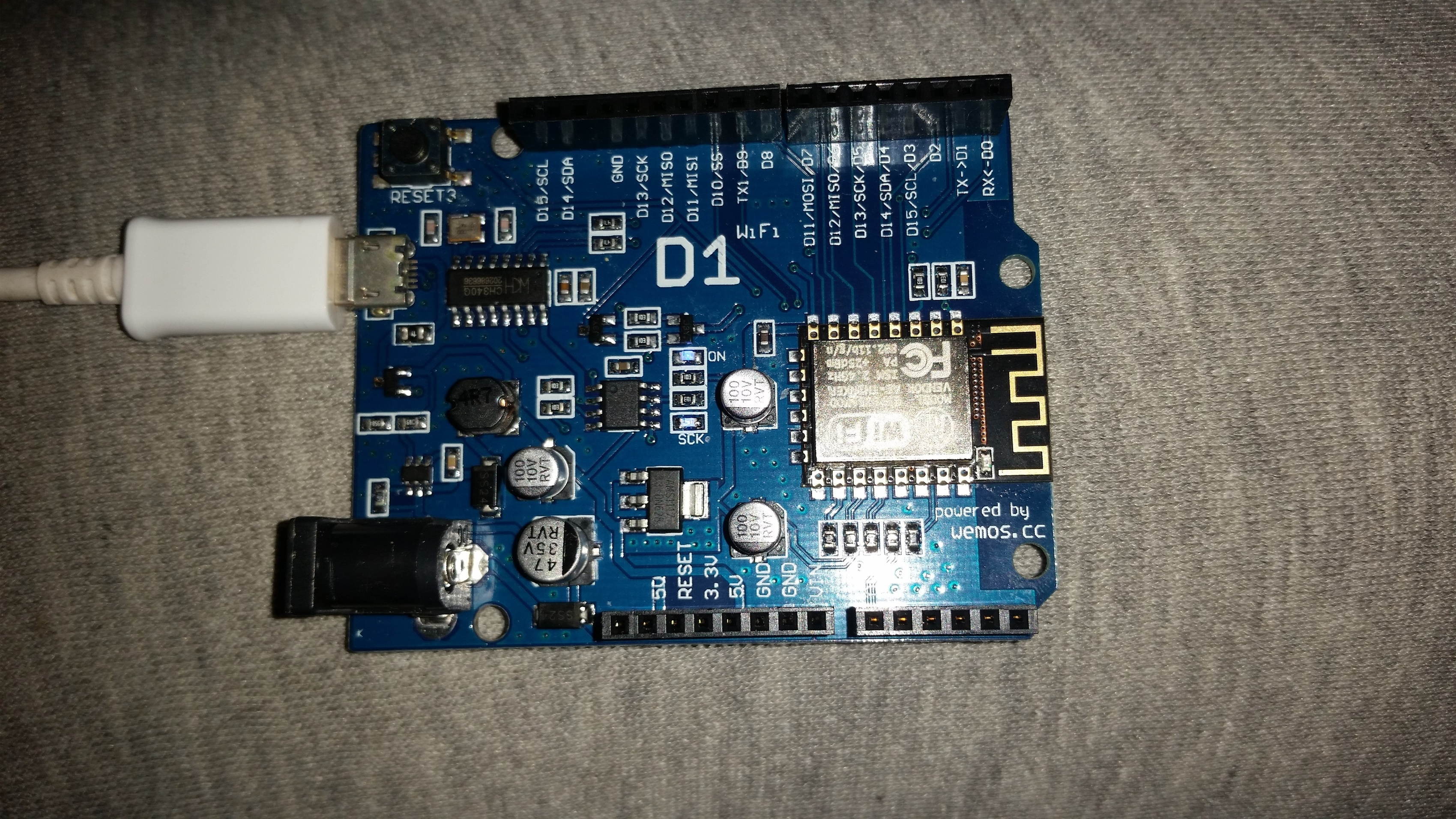 WeMos D1 - All time disconnecting - Issues and Errors