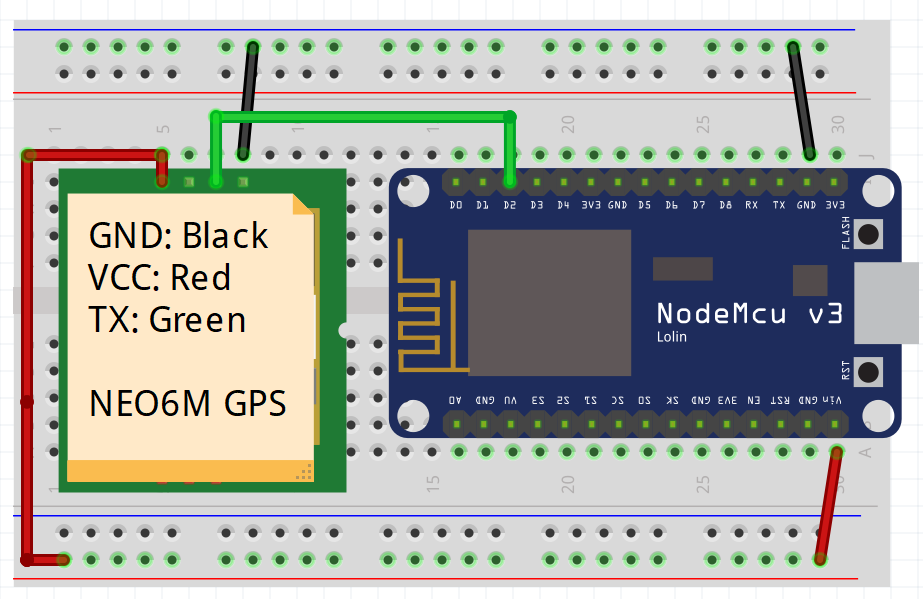 Blynk NEO6M GPS Locator - Projects made with Blynk - Blynk Community