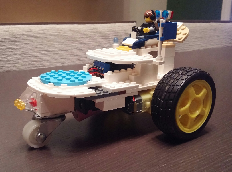 Lego-Car (WeMos Mini D1 and L293D Motor Shield) - Projects