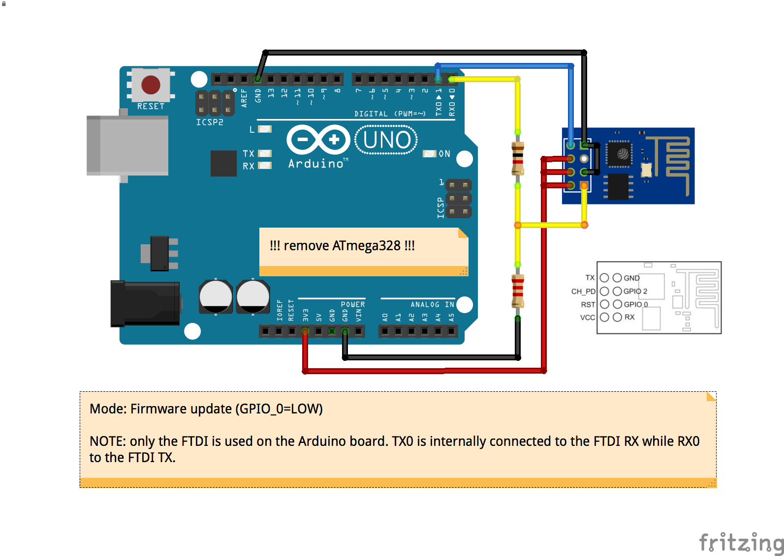 Flashing esp with arduino uno solved blynk