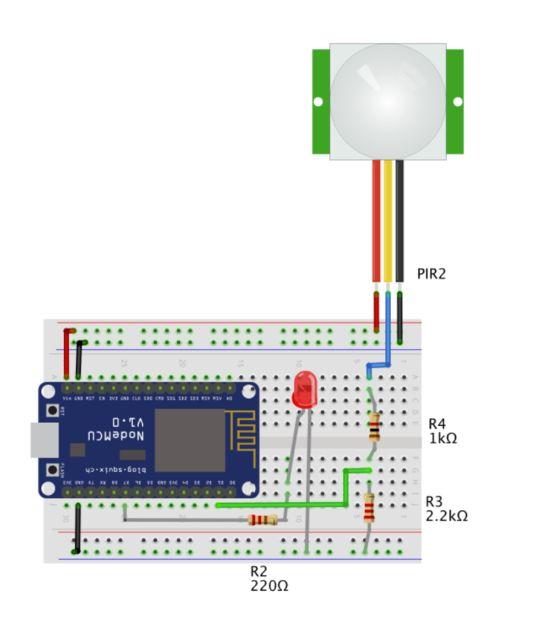 PIR sensor+notify - Solved - Blynk Community