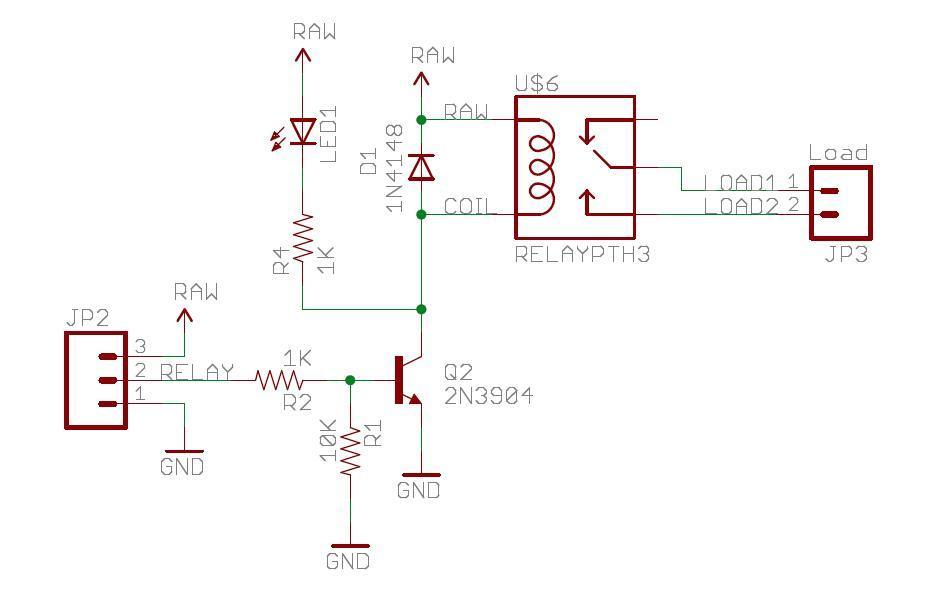 5 Volt Relay Board Diagram Wiring Schematic