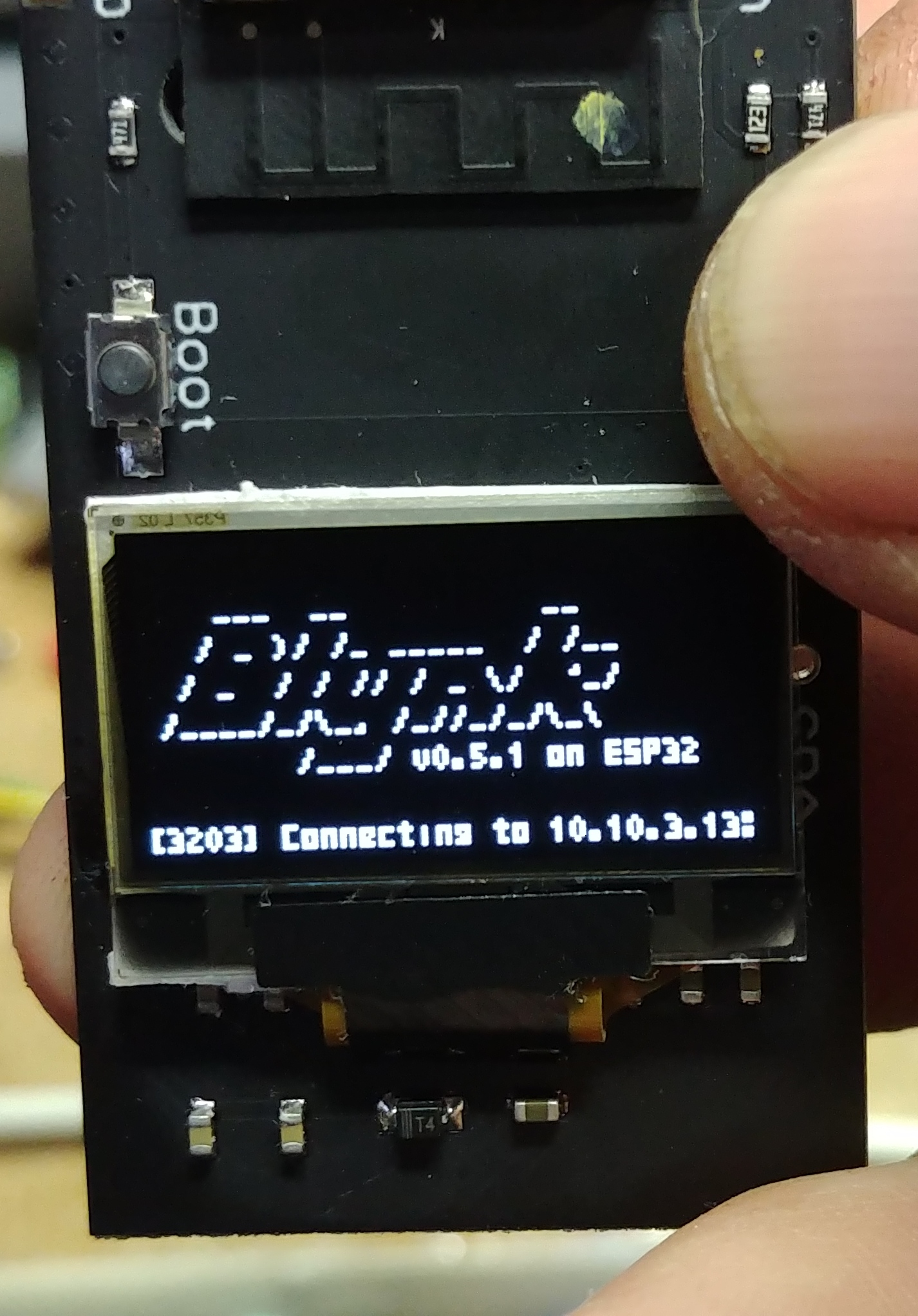 My attempts at transferring BLYNK_PRINT to Various Displays