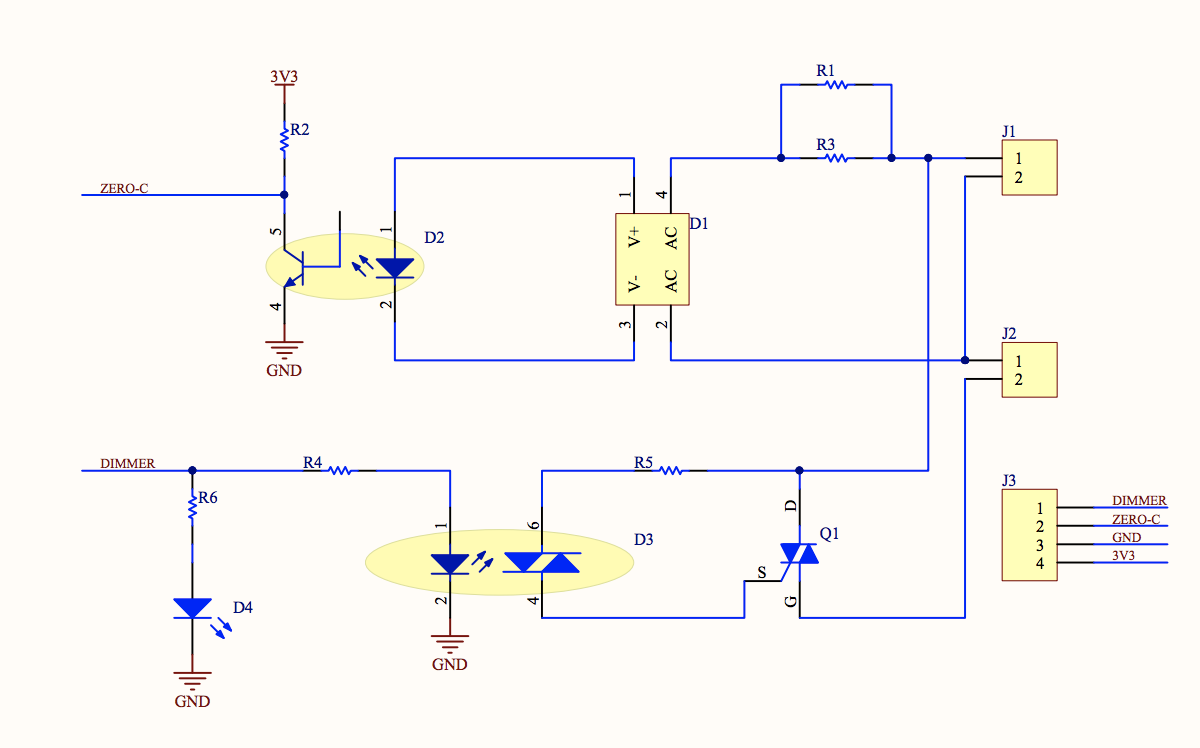 Opto Triac Circuit