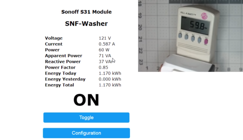 Hacking the new ITEAD Studio - Sonoff S31 - Projects made with Blynk
