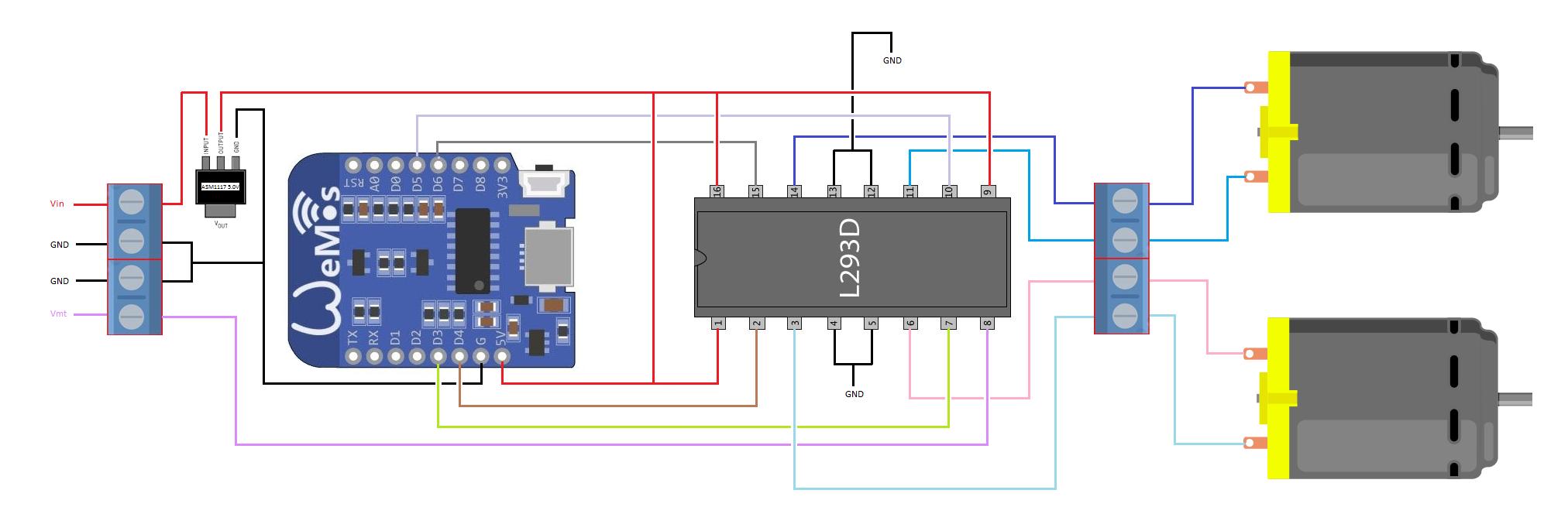 motor shield schematic