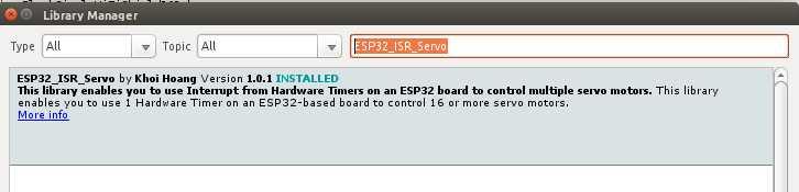 ESP32_ISR_Servo