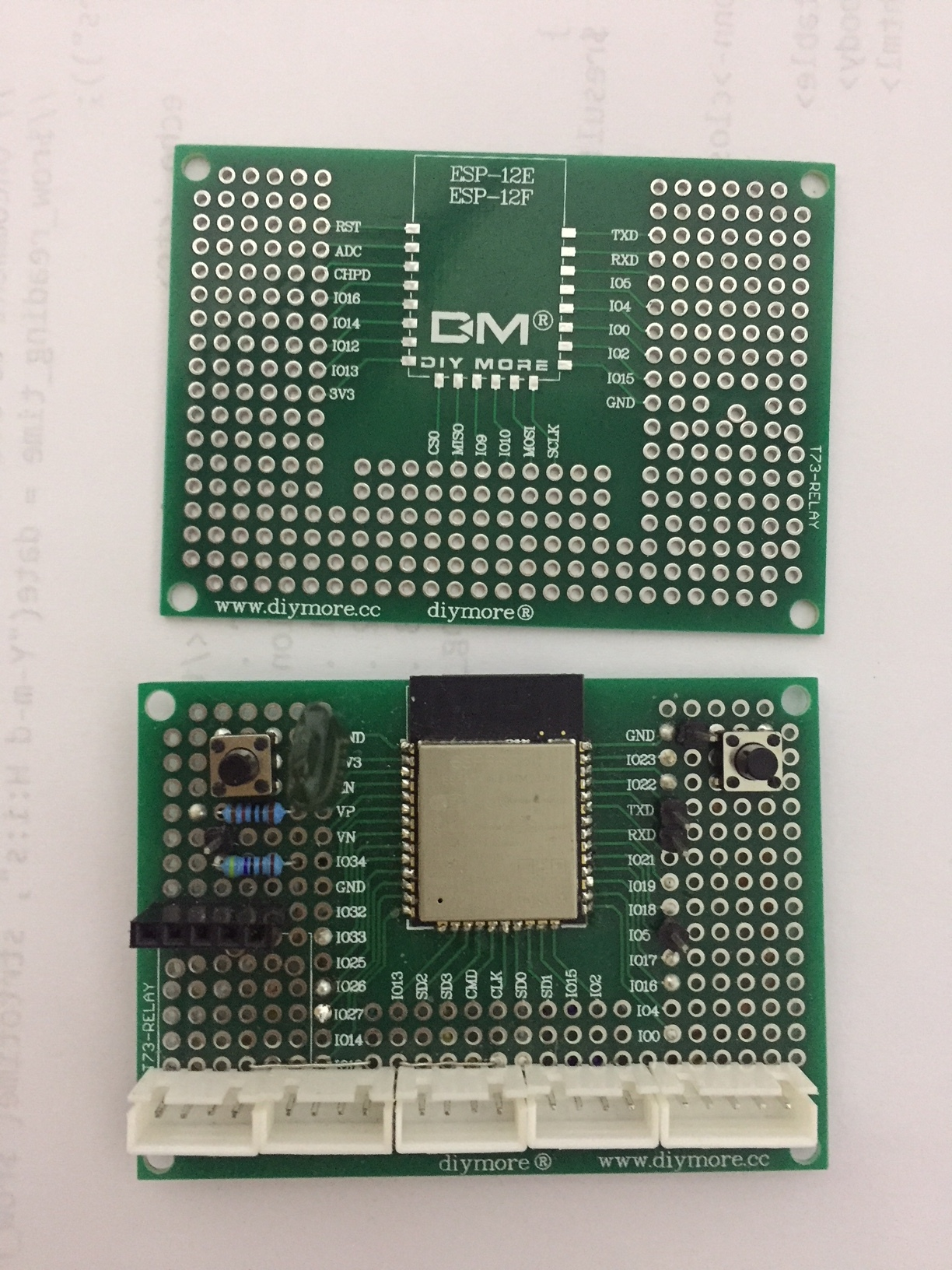 ESP32 and ESP12 custom pcb - Need Help With My Project