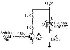 Dash LED Dimmer - MOSFET
