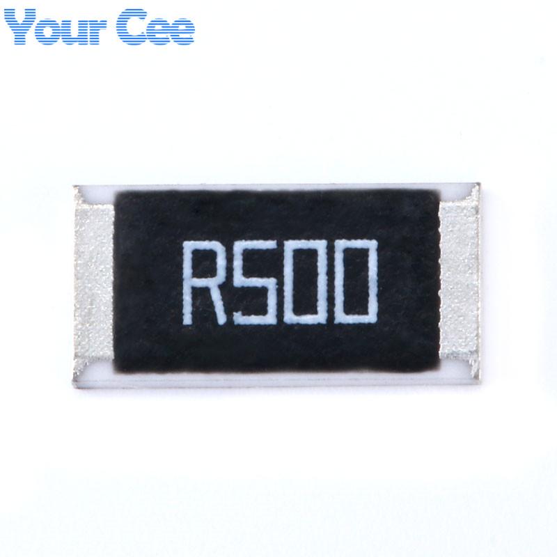 50-pcs-2512-SMD-Resistor-1W-0-5-ohm-0-5R-R500-1-2512-Chip-Resistor