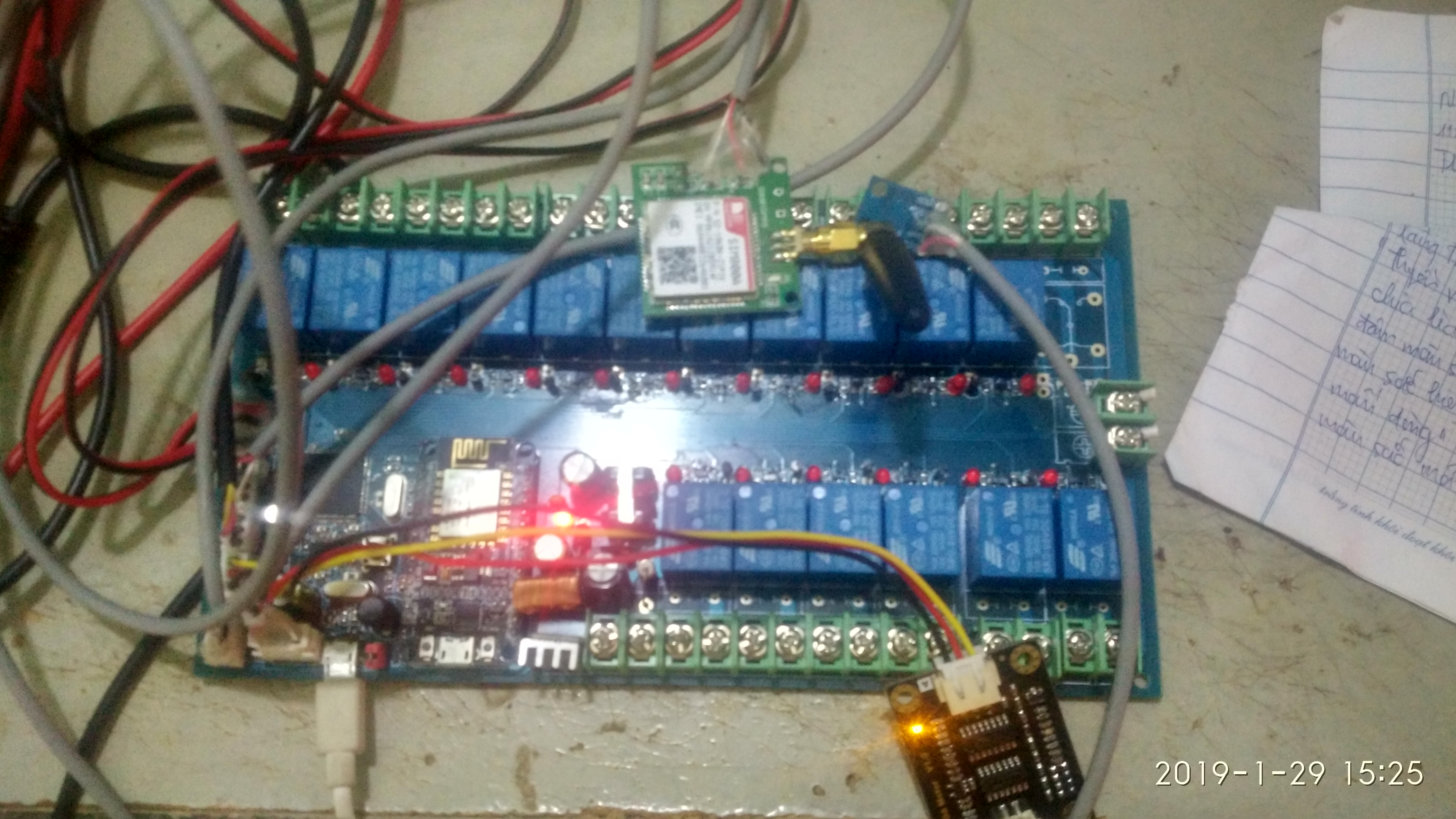Help me code for send sensor data from Arduino Mega to